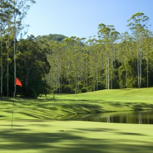 Bonville's 15th green & fairway