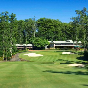 Bonville's 18th fairway & clubhouse (Small)
